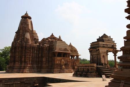 madhyapradesh: Khajuraho temples and their sculptures India