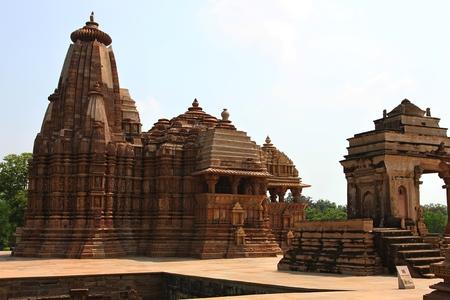 nagara: Khajuraho temples and their sculptures India