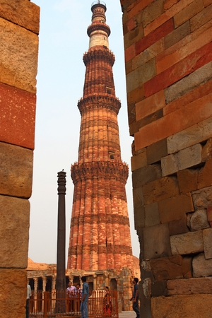 tallest: Qutb Minar 2nd tallest minar in Delhi