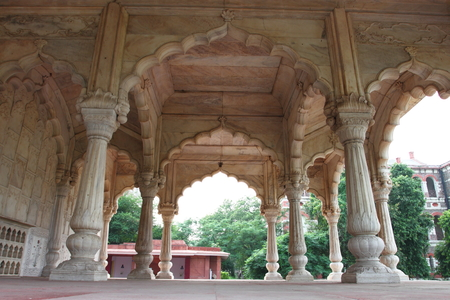 emperors: The Red Fort was the residence of the Mughal emperors of India