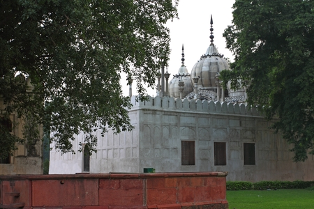 mughal: The Red Fort was the residence of the Mughal emperors of India
