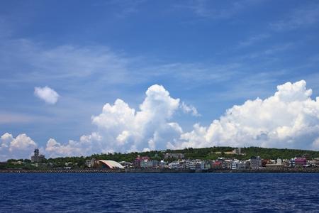 seashores: Fishing village Stock Photo