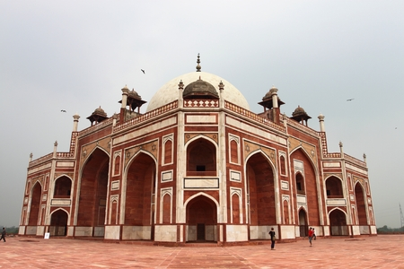 mughal empire: Humayuns Tomb  in Delhi India