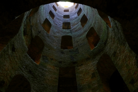 St. Patricks Well, a masterpiece of engineering in Orvieto, Italy