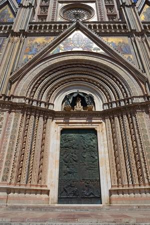 Orvieto – Duomo, beautiful Cathedral in Orvieto, Umbria, Italy