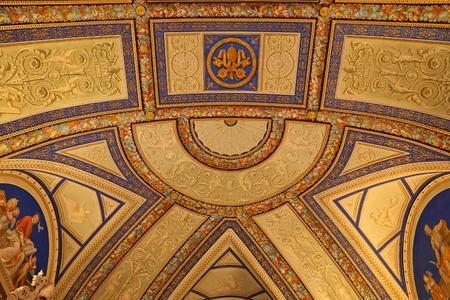 イタリア、バチカン博物館ローマの旧式な芸術作品