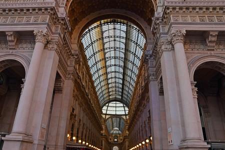 shopping mall of Galleria Vittorio Emanuele in Milan, Italy