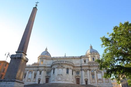Basilica Papale di Santa Maria Maggiore in Rome, Italy Stock Photo - 86167235