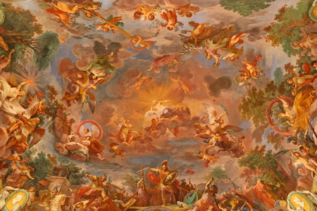 Painting in Galleria Borghese Rome Italy