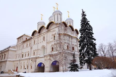 Tvelve Apostle church and Patriarch Palace, Moscow Kremlin