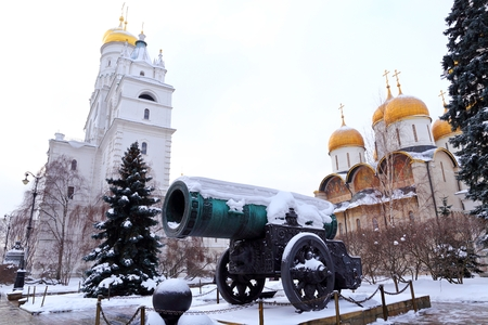 Tsar canon, largest canon by caliber, Moscow, Russia