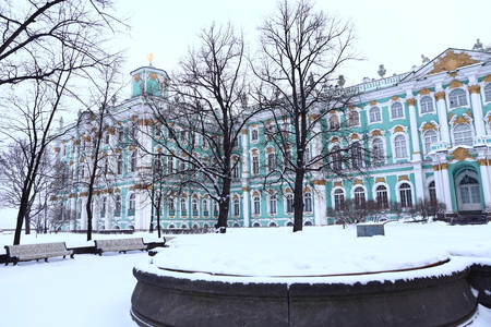 Winter Palace Square in St. Petersburg, Russia