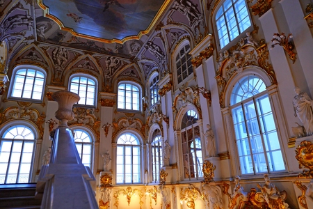 Jordan Staircase of the Winter Palace Editorial