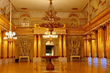 Armorial Hall interior of the State Hermitage (Winter Palace)
