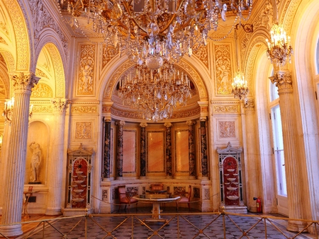 interior of the State Hermitage (Winter Palace) in St. Petersburg Russia
