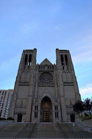Catholic Cathedral in San Francisco, California, USA