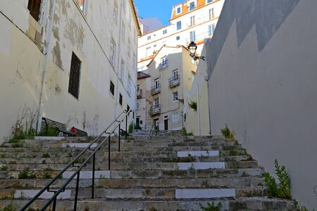 Lisbon Historical Cityscape, view from the old town Alfama, Lisbon Portugal Reklamní fotografie