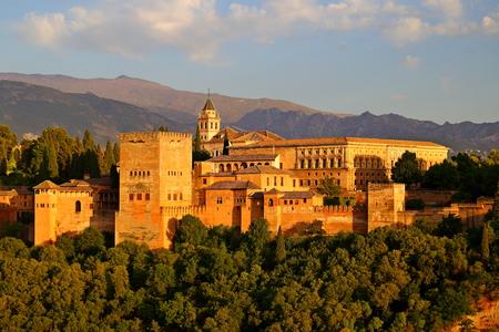 beautiful Moorish Style design of Alhambra Granada - Andalusia, Spain, Europe