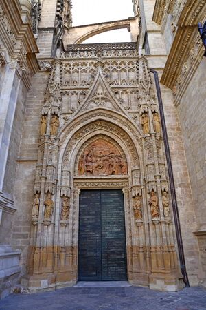 Cathedral of Saint Mary of the See Catedral de Santa Maria de la Sede, known as Seville Cathedral a Roman Catholic cathedral in Seville Spain