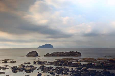 Badouzi (Daping Coastal) in Zhongzheng District, Keelung, Taiwan 免版税图像
