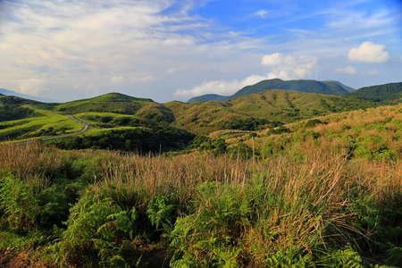 Qingtiangang Grassland in Taipei Yangmingshan, Taiwan.