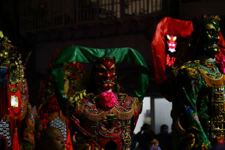 the Earth God parade. The Earth God is believed to protect villages and homes.