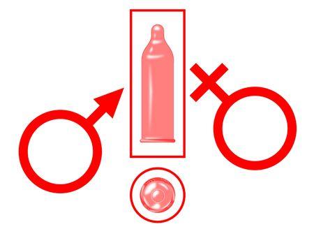 contraceptive: safe  Stock Photo