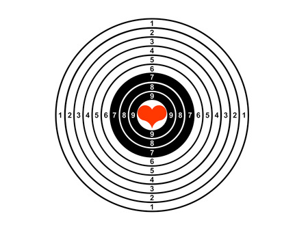 intent: target Stock Photo