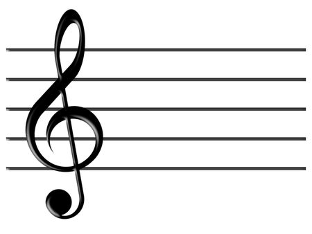 treble clef: treble clef