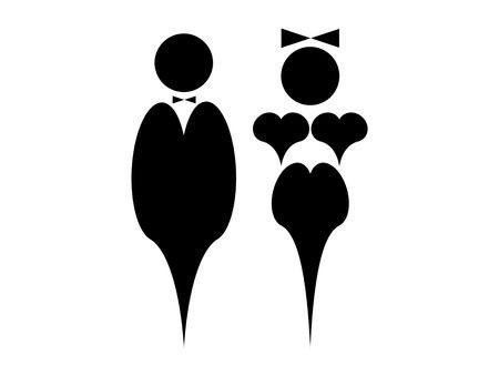 bosom: Man and woman