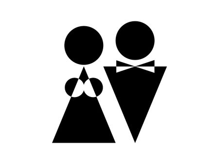 brassiere: Man and woman