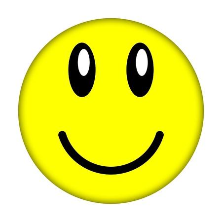 amabilidad: cara sonriente             Foto de archivo