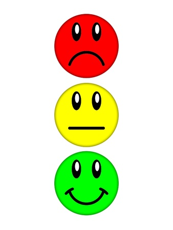 evil face: smiley faces