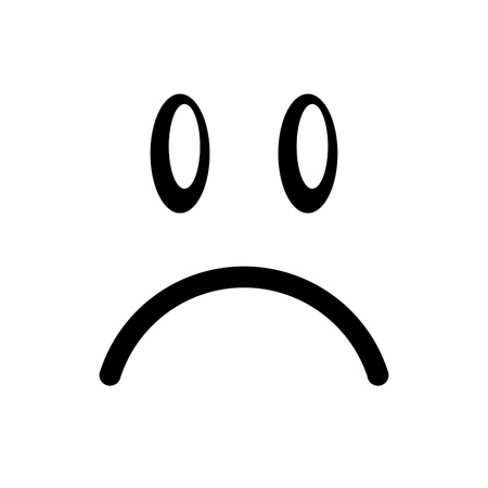 resentment: smiley face             Stock Photo