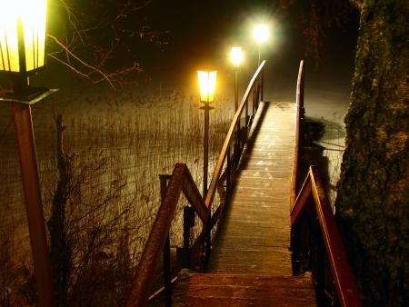 vlonder: voetbrug
