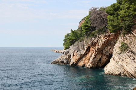 the crags: Sea scenery