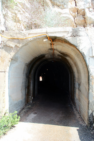 portal: The portal of the tunnel