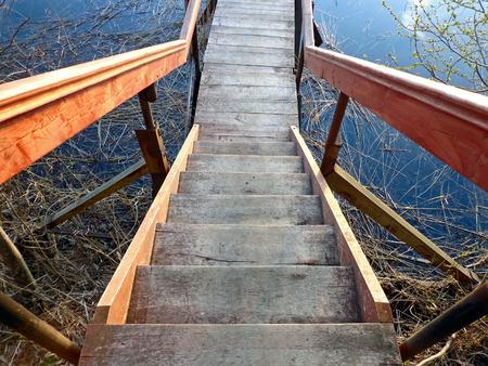 batten: stairs Stock Photo