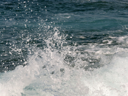 sea wave: Sea wave splashes
