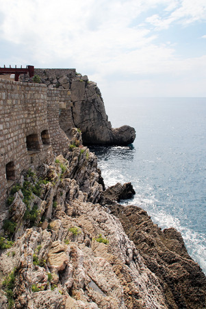 embrasure: The fortress on the cliff by the sea