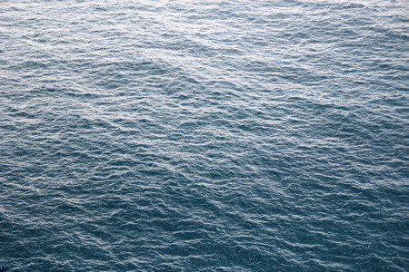sheen: Surface of the blue sea Stock Photo