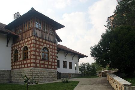 courtyard: monastery courtyard