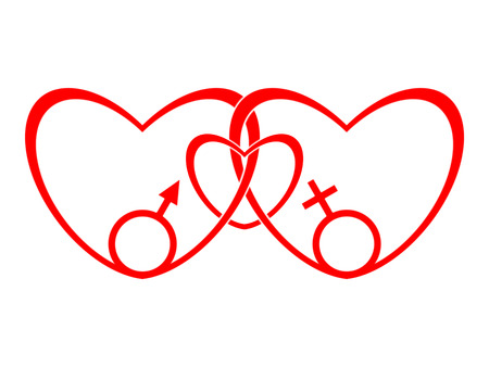 amor: Symbol of the traditional family Stock Photo