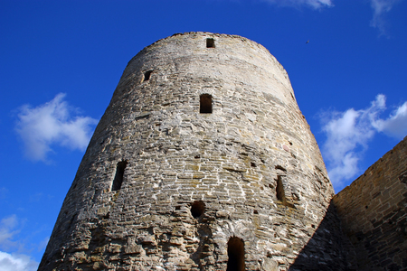 embrasure: Tower of the ancient stone fortress
