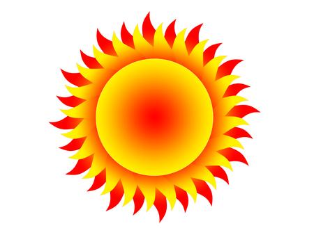 protuberance: sun Stock Photo