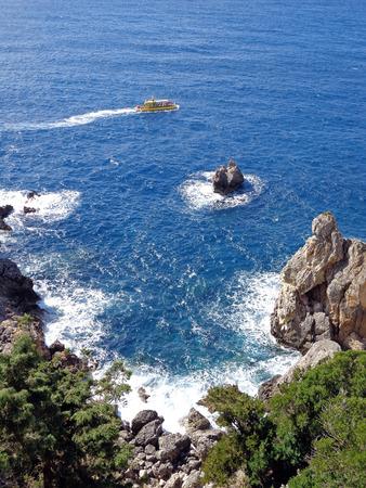 rocky: rocky seascape
