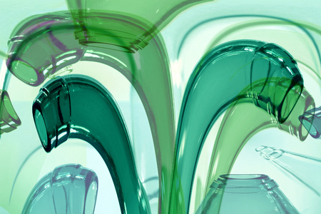 sheen: Abstract image of the wine bottles