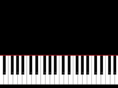 pianoforte: Keys of the piano