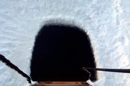 hole: ice hole