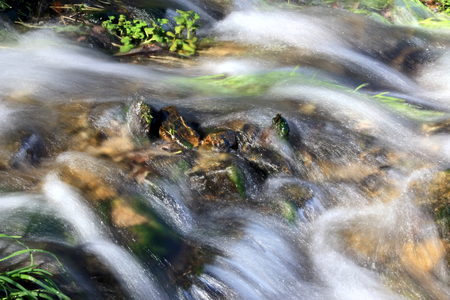 Fast water flow